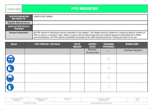 job safety analysis template s p i w