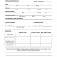 jobs application sample application for employment sample form