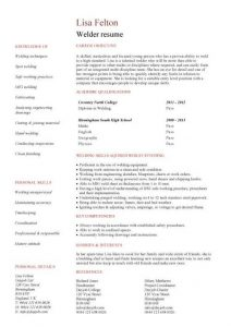 junior web developer resume pic welder resume template