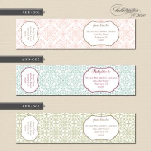 label design free address labels designs