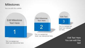 label templates free milestones powerpoint