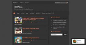 label templates free hitamz template blogger responsive