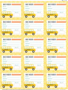 label templates free wl bus