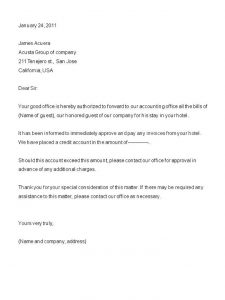 landlord recommendation letter format of letter of authority