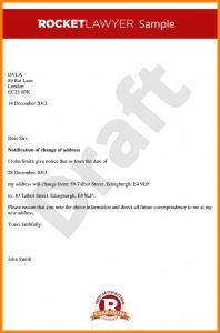 landlord recommendation letter letter address template change of address notice