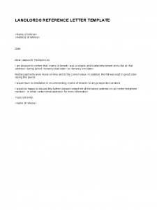 landlord reference letter simple landlord reference letter template d