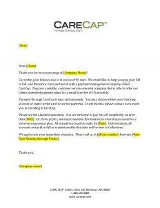 late rent payment letter carecap day past due letter generic