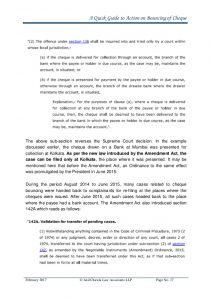 law firm letterhead a quick guide to action on bouncing of cheque