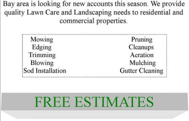 lawn care flyers corysflyer