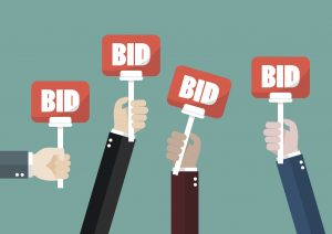 lawn maintenance contract competitive bidding