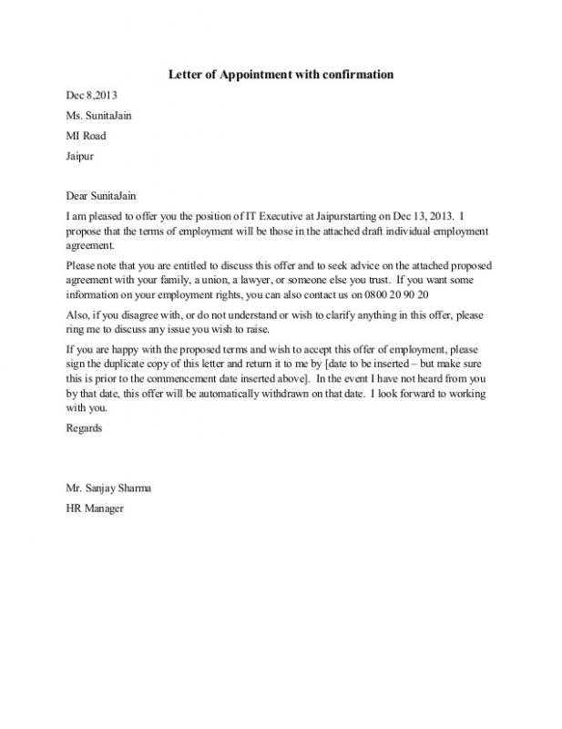 lay off letter