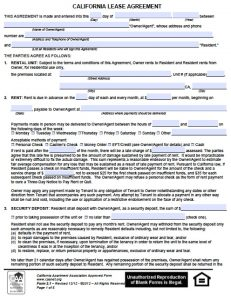 lease agreement pdf free california residential lease agreement pdf word doc apartment association of version adobe microsoft rental template templates
