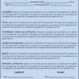 lease agreement template word lease agreement template