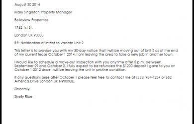 lease renewal letter apartment lease termination letter