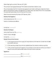 legal contract template legal contract template image