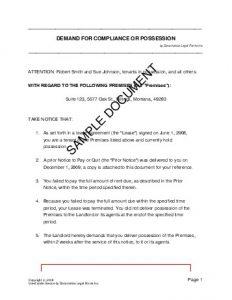legal contract templates demdcop sample pdf