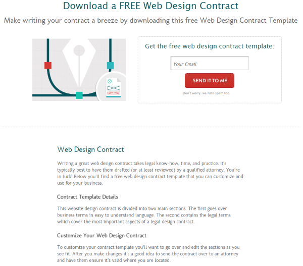 legal contract templates