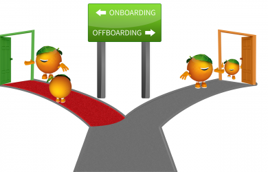 legal contracts template on offboarding