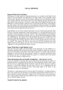 legal memorandum example legal opinions brief review