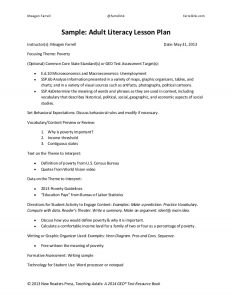 lesson plan outline lesson plan handout and template education pays
