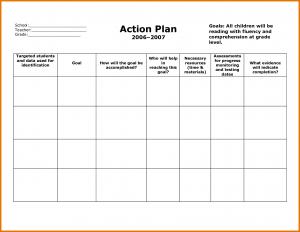 lesson plan template for preschool action plan templates
