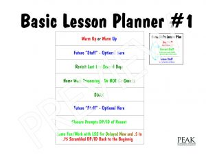 lesson plan template pdf lesson plan basic number