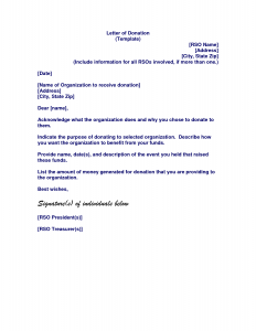 letter asking for donations letter of donation template letter