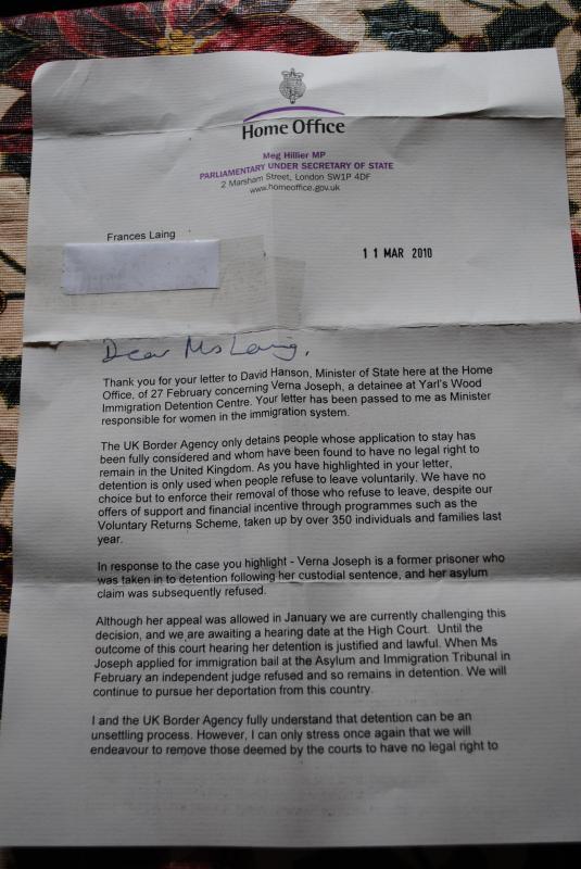 letter for immigration