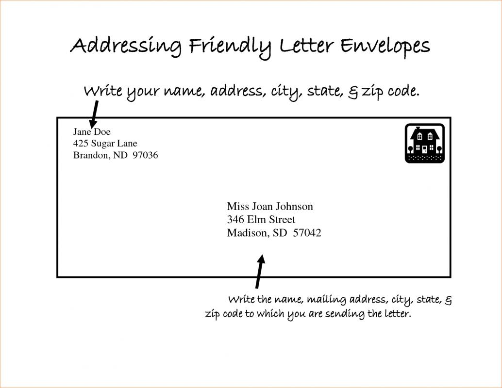 letter format mail