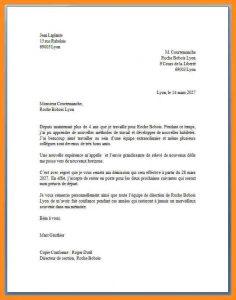 letter head examples modele lettre officielle modele lettre de demission reel