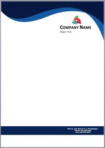 letter head format free letterhead template