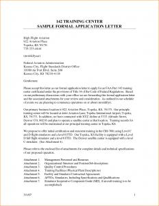 letter of application sample formal application letter format