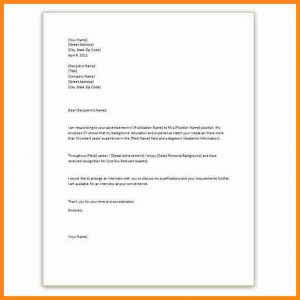 letter of eviction application letter template word
