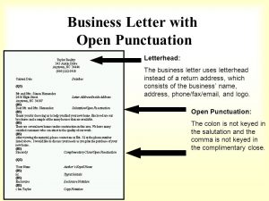 letter of intent for college example of a block letter with mixed punctuation cover letter closed punctuation business letter closed punctuation business letter