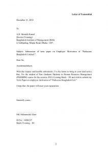 letter of intent for employment employee motivation bangladesh institute of management bim