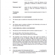letter of intent to hire partnership agreement template