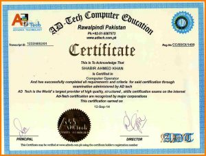 letter of introduction template computer certificate sample online