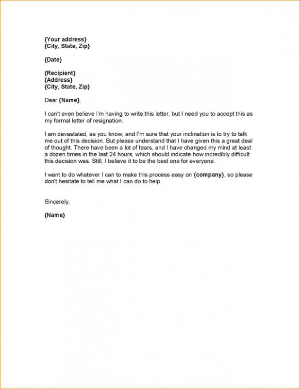 letter of notice