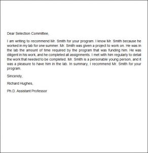 letter of recommendation for employment write recommendation letter