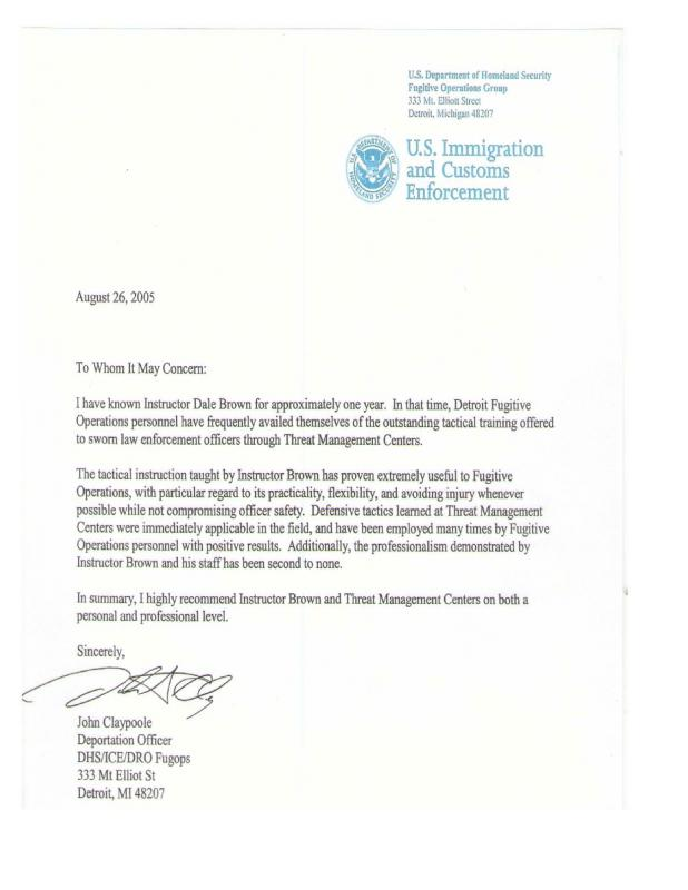 letter of recommendation for immigration