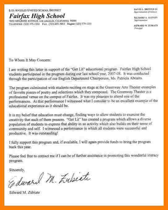 letter of recommendation for student teacher