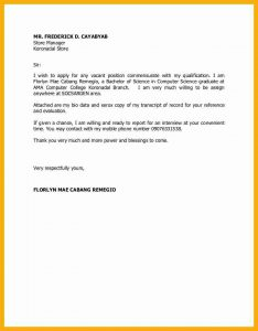letter of recommendation template for college example of application letter of any vacant position applicationletter phpapp thumbnail cb