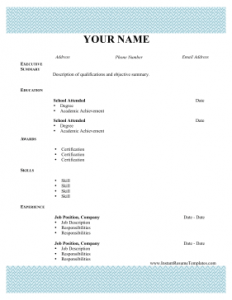 letter of recommendation template for college pattern resume lines