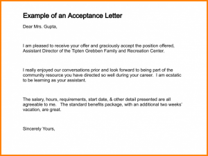 letter of recommendation template for college project acceptance letter example of an acceptance letter