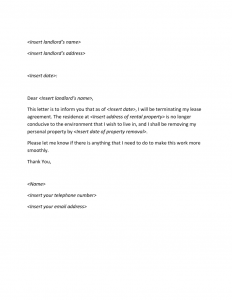 letter of termination termination letter x