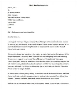 letter template word block style business letter template ms word download