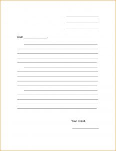 free letter template templates for children's friendly letter template invoice download gallery