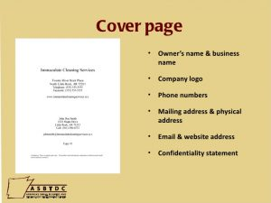 letter to landlords how to write a business plan