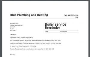 letter to landlords service reminder pdf