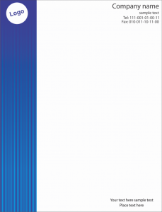 letterhead template free download free download letterhead templates